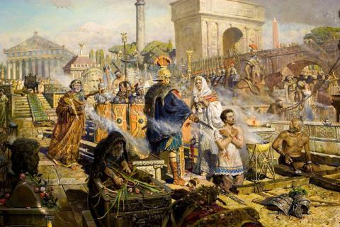 Павел Рыженко. Исповедничество веры святого великомученика Георгия Победоносца и царицы Александры